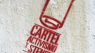 cartel stencil